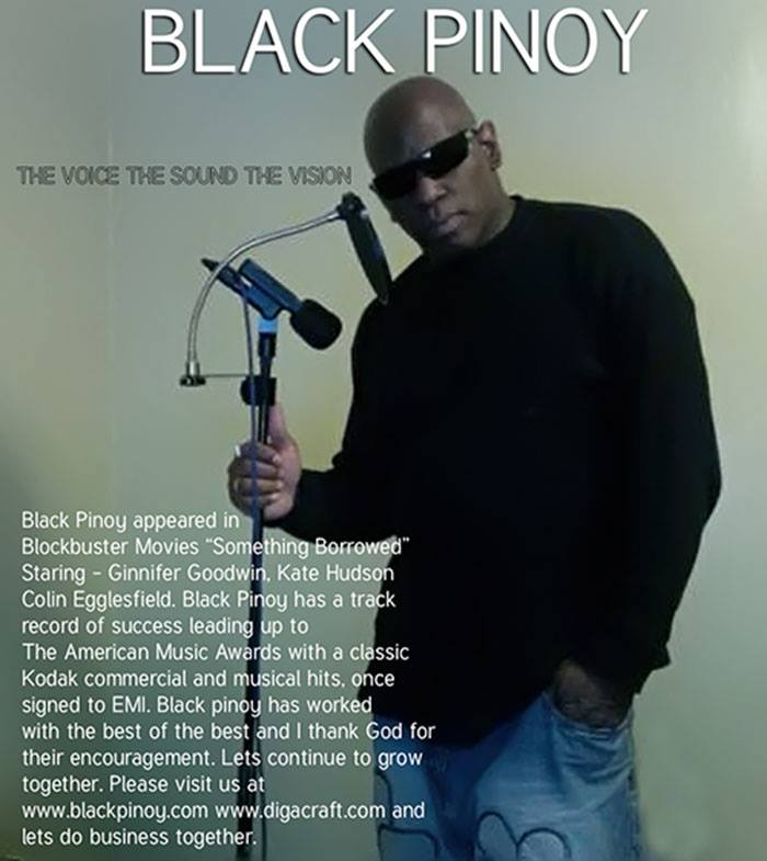 A music Soul Journey-Black Pinoy Actor - Recording Artist Joel Crafton